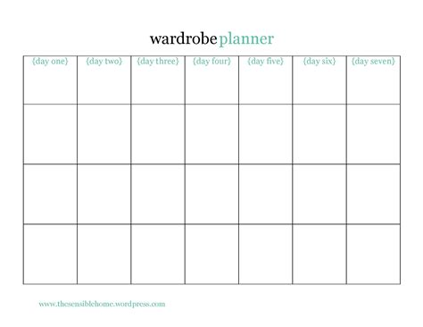 wardrobe checklist template june 2014 the sensible home