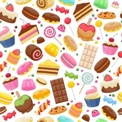 wallpaper chocolate cute cute sweet candy seamless pattern vector 02 jpg 500 215 500