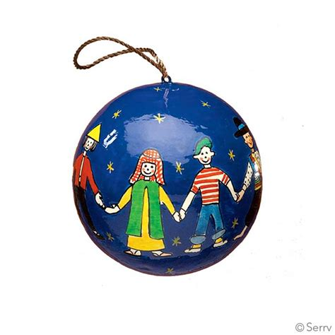 christmas ornaments children of the world ornament