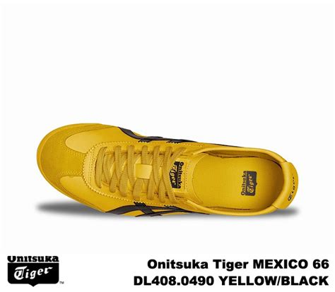 Po Original Onitsuka Tiger Mexico 66 Yellow Mustard White D6e9l 7102 premium one rakuten global market onitsuka tiger mexico 66 mexico yellow black onitsuka tiger