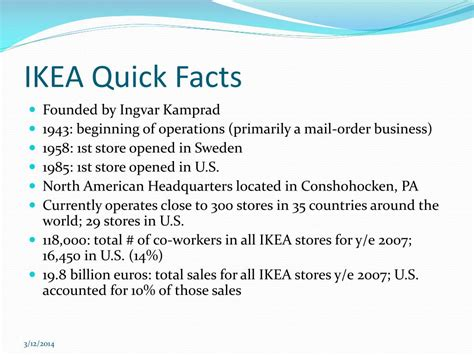 ikea facts ppt ikea affordable solutions for better living