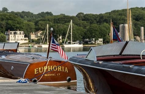 mystic boat parade antique and classic boat parade 2017 in mystic ct