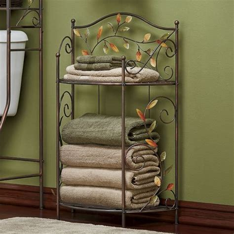 towel stackers bathroom leaf towel stacker it is a beautiful life pinterest