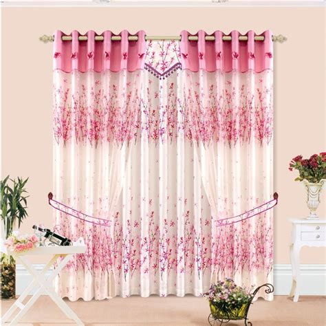 peach bedroom curtains quality bedroom curtain double layer fabric cotton