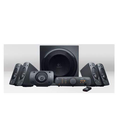 Speaker Logitech Z906 5 1 buy logitech z906 5 1 speakers home audio system thx