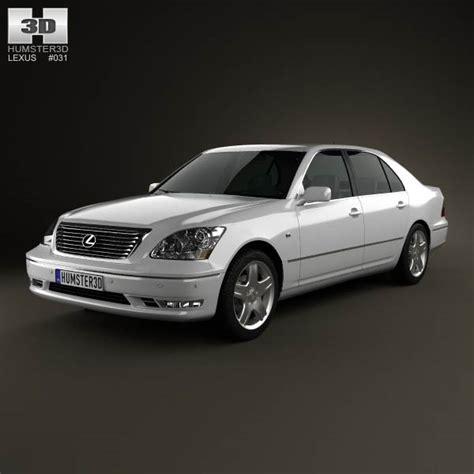 lexus 2003 model lexus ls xf30 2003 3d model humster3d