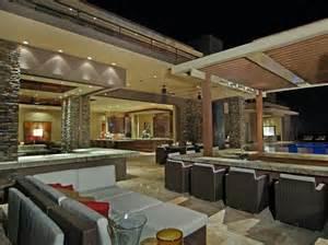 Bright Kitchen Lighting Ideas Las Vegas Luxury Homes Outdoor Spaces Outdoor Kitchens