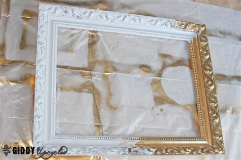 Antiquing White Kitchen Cabinets hometalk vintage frames spray painted white for gallery wall