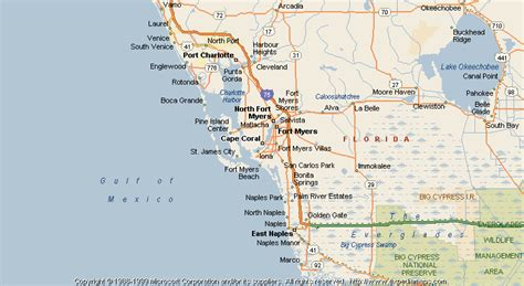 cape coral florida map map of cape coral