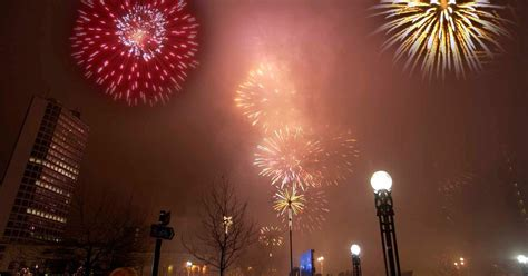 new year in birmingham uk where to see fireworks on new year s in and near