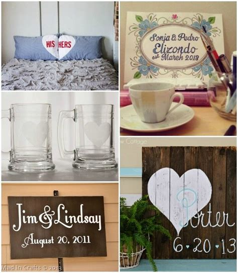 Handmade Wedding Gift Ideas - image gallery wedding gifts