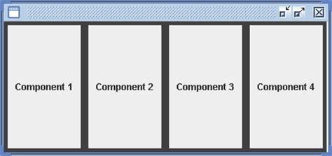 grid layout exles java boxlayout component alignment layout 171 swing jfc 171 java