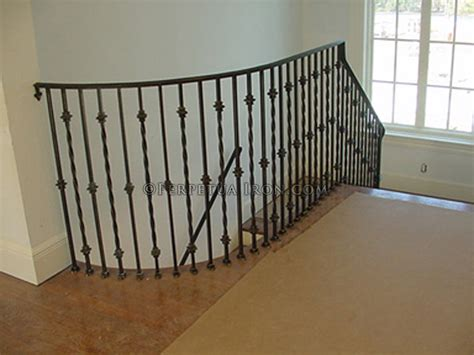 Decorative Banisters by Perpetua Iron Ornamental Railings