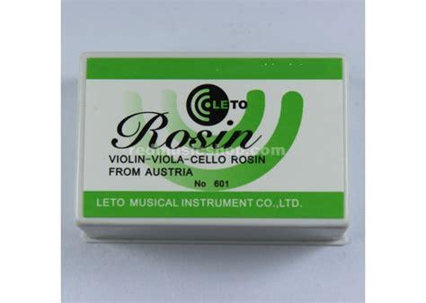 Rosin Siongka Biola Leto No 601 leto rosin 601 for violin viola cello shop