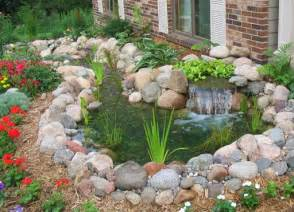 Small Garden Waterfall Ideas Small Pond And Waterfall Backyard Ideas Backyard Design Ideas