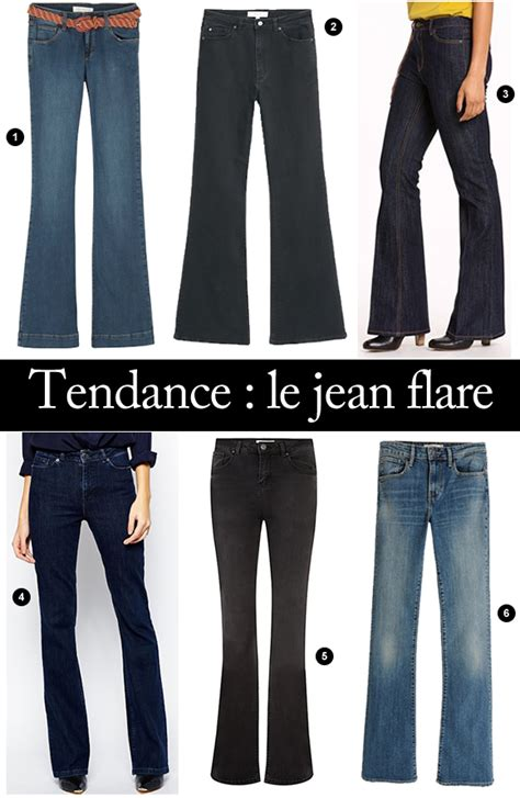 Tendance Hiver 2016 by Tendance Automne Hiver 2015 2016 Le Jean Flare