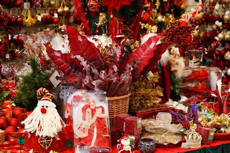 file christmas decoration for sale in a christmas shop jpg
