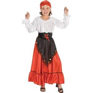 gypsy halloween costume for kids child gypsy costume costumeish cheap halloween