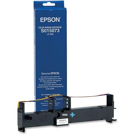 Promo Ribbon Cartridge Lx 310 Epson epson s015073 color ribbon cartridge for lx 300 s015073 b h