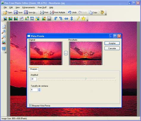 free editor pos free photo editor