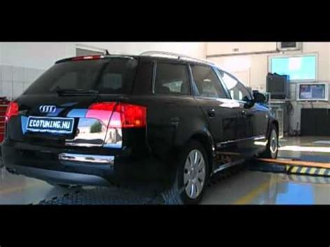Chiptuning Audi A4 2 0 Tdi by Audi A4 2 0 Tdi Chiptuning Dyno Referencia Youtube