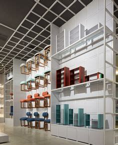 designboom retail arper view of the new showroom in chicago by architect