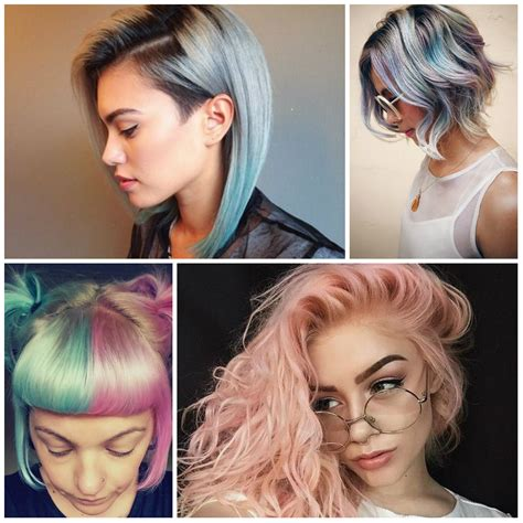 whats trending now in hair color 2017 trending pastel hair colors on instagram best hair