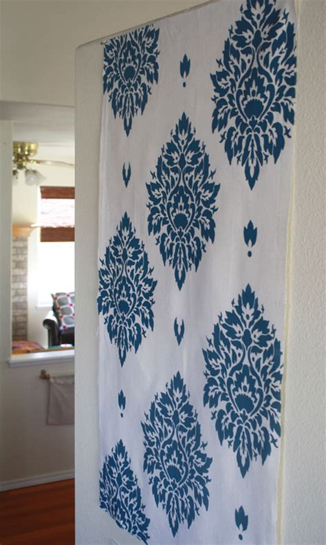 fabric pattern stencils ideas easy tips for stenciling fabric ecbloom