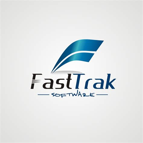 design a logo quickly fast trak software logo design hiretheworld