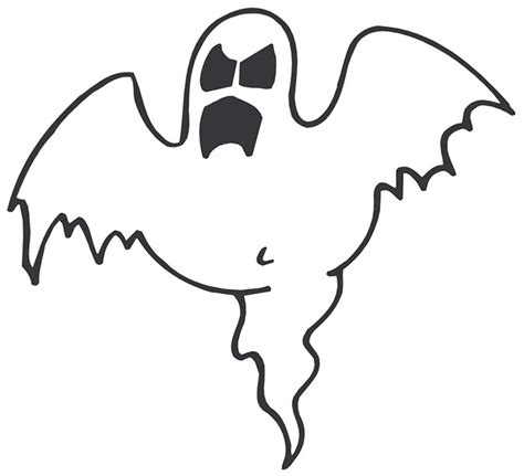 best photos of cartoon ghost template cute ghost face