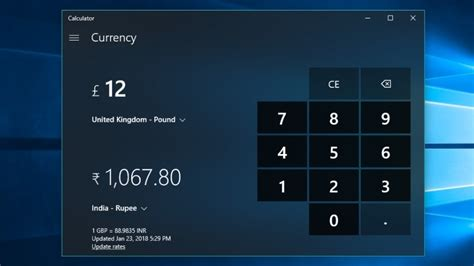 currency converter windows 10 how to use the currency converter tool in windows 10