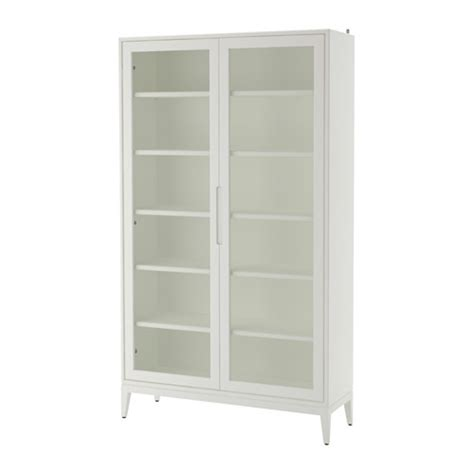 white cabinet with glass doors regiss 214 r glass door cabinet white ikea