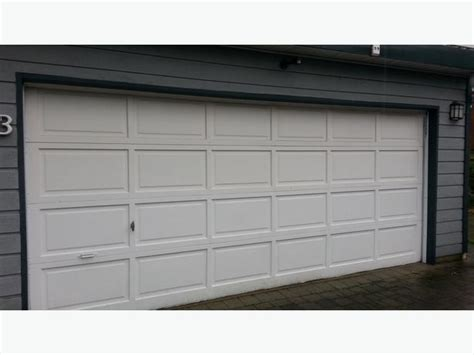 16 Foot Garage Door by 16 Ft Garage Door And Opener West Shore Langford Colwood