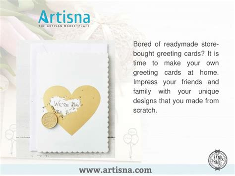 how to make id cards at home ppt how to make handmade greeting cards at home