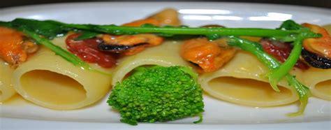 ricette mediterranee ricette ricette ricette veloci paccheri con cozze e broccoli ricette facili e veloci