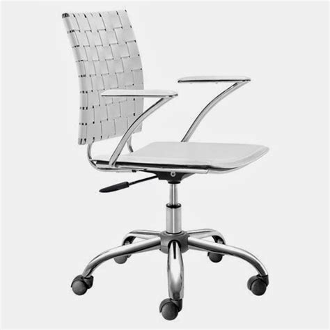 white rolling desk chair white office chair