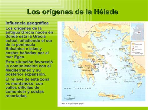los origenes de la la antigua grecia