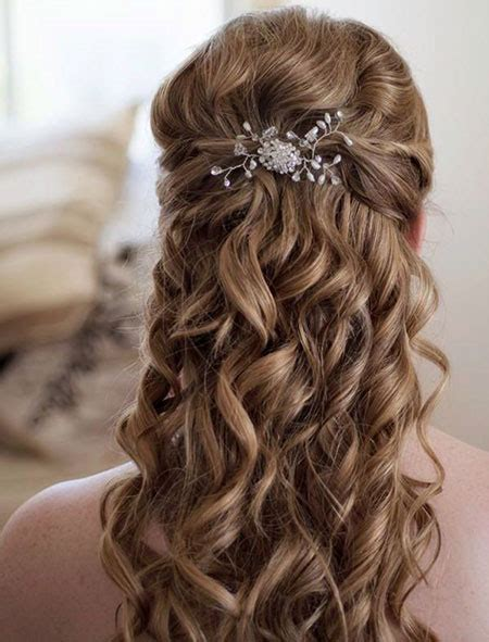Wedding Hairstyles For Brown Hair by 29 Cutest Wedding Hairstyles Hairstyles Haircuts 2016