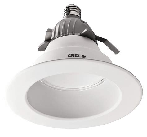 High Hats Light Fixtures Cree Led Recessed 6 In Downlight 575l 43y171 Cr6 Grainger