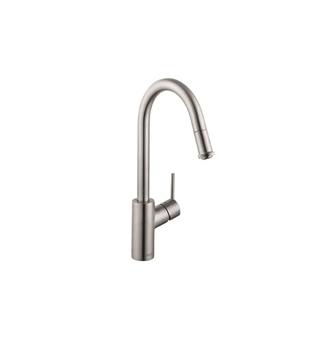 hansgrohe talis s kitchen faucet hansgrohe 14872 talis s 1 spray higharc pull down kitchen