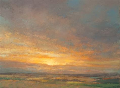 Landscape Artists Uk Sunset Paintings