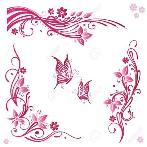 imagenes de flores vectorizadas imagenes de ramas y flores para decorar marcos para
