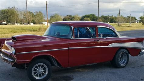 air for car doors 1957 57 chevy 2 door post sedan bel air gasser race car