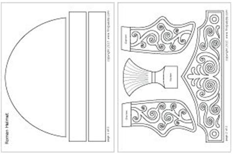 ancient helmet template ready to color imperial helmet template pattern