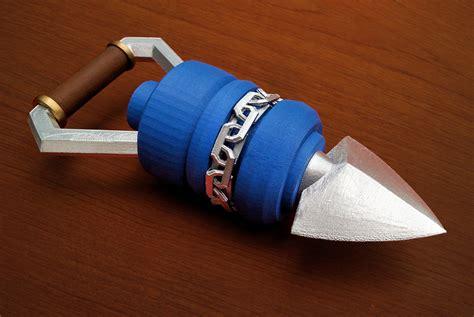 Origami Ocarina - 3d printed legend of hookshot bombchu get up