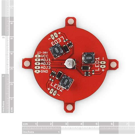 Driver Led Luxeon luxeon rebel led tri color driver 09834 sparkfun