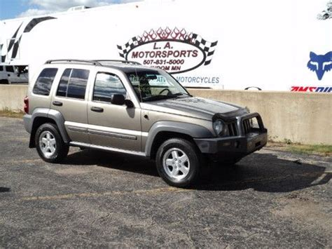 2005 Jeep Liberty Value Buy Used 2005 Jeep Liberty Auto Crd Diesel Low 4x4