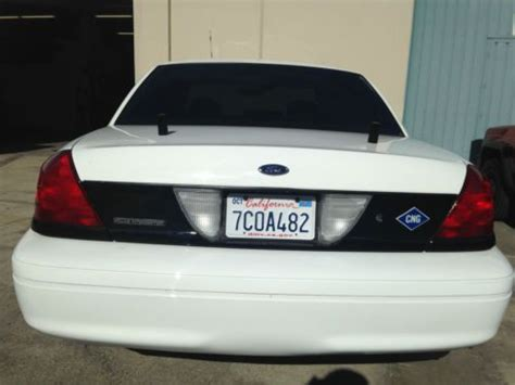 sell   ford cng carpool stickers   crown victoria police    irvine