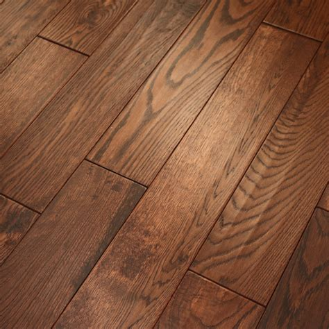 wood flooring classic flamed oak 18x150mm handscraped abcd grade solid wood flooring leader