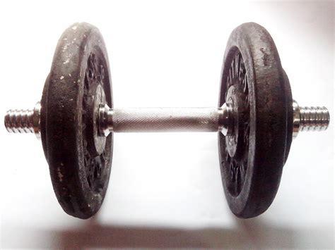 Stick Damble 10kg stick dumble crome beban bandung fitness